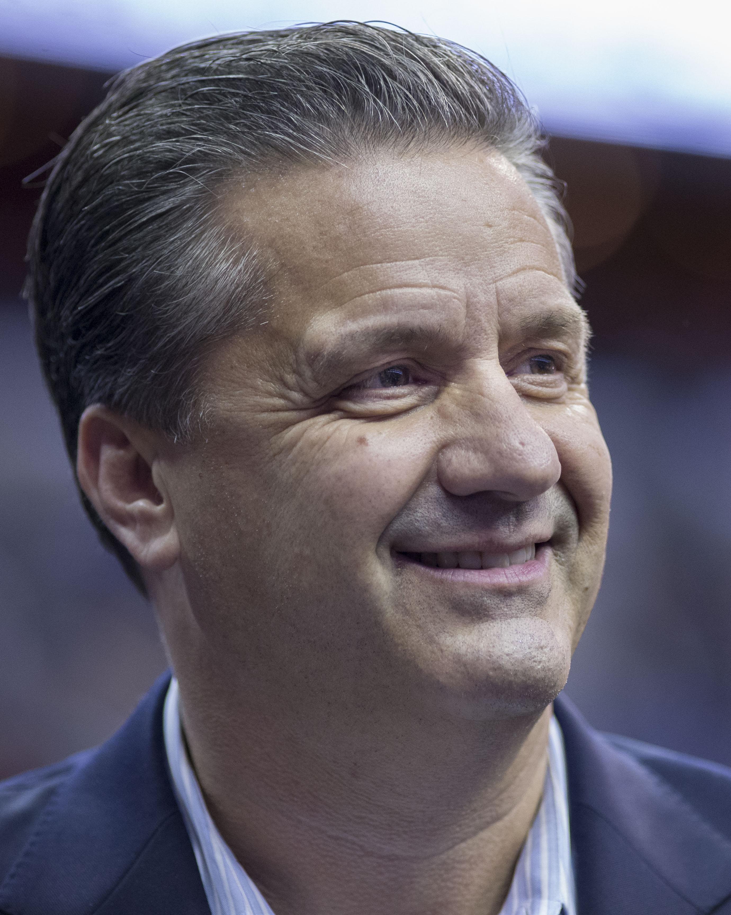 Kentucky coach John Calipari (photo via wikipedia)