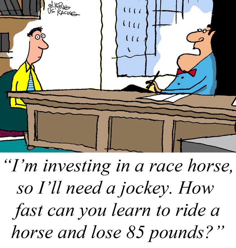 jockey-humor
