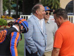 Flavien Prat, Richard Baltas and Nick Cosato